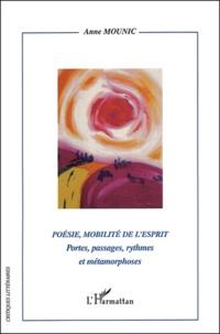 Anne Mounic - Poésie, mobilité de l'esprit - Portes, passages, rythmes et métaphores.