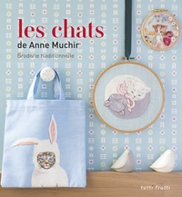 Anne Muchir - Les chats - Broderie traditionnelle.