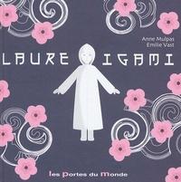 Anne Mulpas et Emilie Vast - Laure Igami - Petite fille en papier plié.