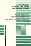Anne-Nelly Perret-Clermont - La construction de l'intelligence dans l'intéraction sociale.