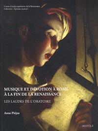Musique et dévotion à Rome à la fin de la Renaissance - Les laudes de loratoire.pdf
