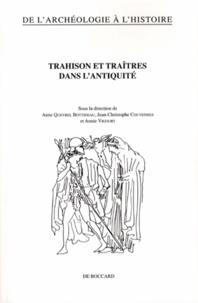 Anne Queyrel Bottineau et Jean-Christophe Couvenhes - Trahison et traîtres dans l'Antiquité.