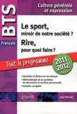 Anne Ramade - BTS français, épreuve de culture générale et expression 2010-2011 - Le sport, miroir de notre société ? Rire, pour quoi faire ?.