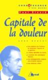 Anne Régent - Capitale de la douleur, Paul Eluard.