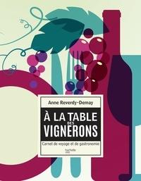 Anne Reverdy-Demay - À la table des vignerons - carnet de voyage et de gastronomie.