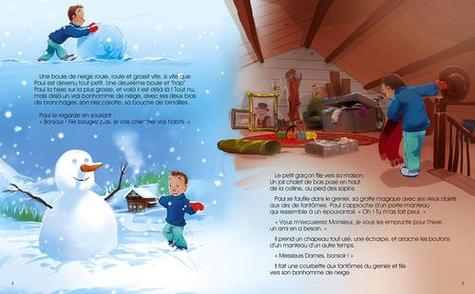 La fabuleuse histoire du Père Noël ; Le Bonhomme de Neige  avec 1 CD audio