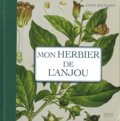 Anne Richard - Mon herbier de l'Anjou - 93 planches botaniques anciennes revisitées, Plantes sauvages et cultivées en France.