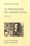 Anne Richter - La promenade du Grand Canal.