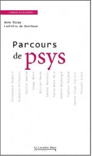 Anne Ricou et Laetitia de Kerchove - Parcours de psy.