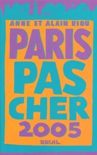 Anne Riou et Alain Riou - Paris pas cher.
