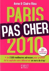 Anne Riou et Claire Riou - Paris pas cher.