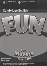 Anne Robinson - Fun for Movers - Teacher's Book.