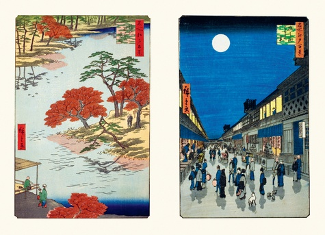 Hiroshige. Cent vues célèbres d'Edo