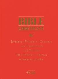 Anne Sigier - Bible chrétienne - Coffret en 2 volumes : Tome 4 et Tome 4*.