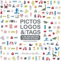Anne Sohier-Fournel - Pictos, logos & autres tags au point de croix.