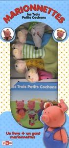 Anne-Sophie Bailly - Marionnette les 3 Petits Cochons.