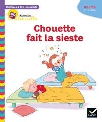 Anne-Sophie Baumann et Cécile Rabreau - Histoires à lire ensemble Chouette fait la sieste PS-MS.
