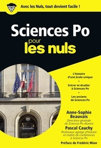 Anne-Sophie Beauvais et Pascal Cauchy - Sciences Po pour les nuls.