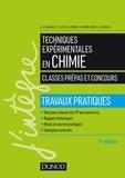 Anne-Sophie Bernard et Sylvain Clède - Techniques expérimentales en chimie - Classes prépas et concours - Travaux pratiques.