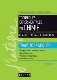 Anne-Sophie Bernard et Sylvain Clède - Techniques expérimentales en chimie.