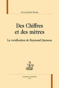 Télécharger des ebooks sur ipad gratuitement Des chiffres et des mètres  - La versification de Raymond Queneau