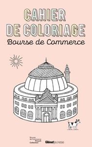Anne-Sophie Cayrey et Jochen Gerner - Cahier de coloriage bourse de commerce.