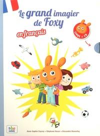 Anne-Sophie Cayrey et Stéphane Husar - Le grand imagier de Foxy en français. 1 CD audio