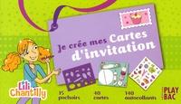 Anne-Sophie Congar et Armelle Goraguer - Je crée mes cartes d'invitation - Lili Chantilly.