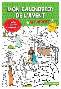 Anne-Sophie Droulers - Mon calendrier de l'Avent à colorier.
