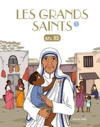 Anne-Sophie du Bouëtiez et Anne Bideault - Les grands saints en BD.