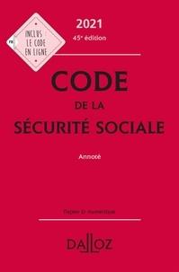 Anne-Sophie Ginon et Frédéric Guiomard - Code de la sécurité sociale annoté.