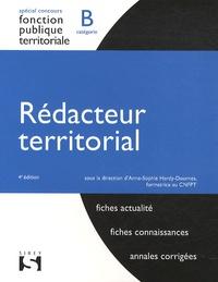 Anne-Sophie Hardy-Dournes - Rédacteur territorial - Fonction publique territoriale catégorie B.
