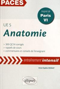 Goodtastepolice.fr Anatomie UE 5 - 300 QCM corrigés, inspiré de Paris VI Image