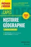 Anne-Sophie Molinié - Préparer et réussir le Capes d'histoire-géographie - Epreuves d'admission.