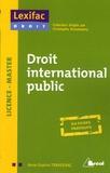 Anne-Sophie Traversac - Droit international public.