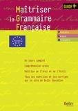 Anne Struve-Debeaux - Maîtriser la grammaire française - Grammaire pour étudiants de FLE-FLS (niveaux B1-C1). 1 Cédérom