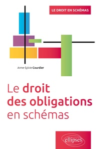 Anne-Sylvie Courdier - Le droit des obligations en schémas.