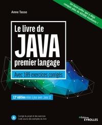 Ebooks rapidshare téléchargement gratuit Le livre de Java premier langage  - Avec 109 exercices corrigés 9782212654042