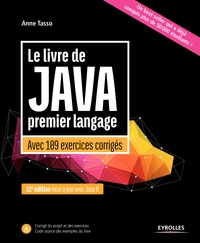 Téléchargez de nouveaux livres gratuits Le livre de Java premier langage  - Avec 109 exercices corrigés par Anne Tasso en francais 9782212674866 iBook