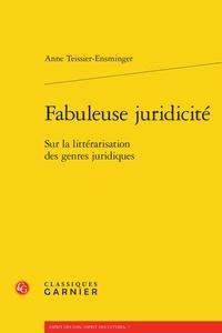 Goodtastepolice.fr Fabuleuse juridicité - Sur la littérarisation des genres juridiques Image