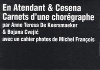 Anne Teresa De Keersmaeker et Bojana Cvejic - En Atendant & Cesena - Carnets d'une chorégraphe. 3 DVD
