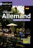 Anne Thomann et Beate Blasius - Allemand immersion orale. 4 CD audio