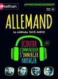 Anne Thomann et Beate Blasius - Coffret Allemand approfondissement - B1. 4 CD audio