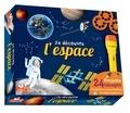 Anne Thomas-Belli et Sylvie Bessard - Je découvre l'espace - Avec une lampe. Projette 24 images de planètes, contellations et engins spatiaux !.