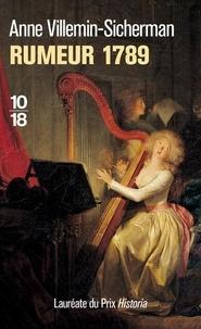 Anne Villemin-Sicherman - Rumeur 1789.
