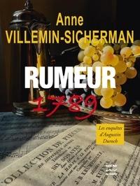 Anne Villemin Sicherman - Rumeur 1789.