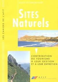 Sites naturels - Contribution du tourisme à leur gestion et à leur entretien.pdf