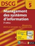 Annelise Couleau-Dupont et Régis Tombarel - Management des systèmes d'information DSCG 5 - Manuel, Applications & Corrigés.
