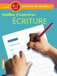 Annemie Bosmans - Ecriture 6-7ans CP - Feuilles d'exercices.