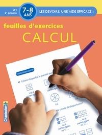 Annemie Bosmans - Feuilles d'exercices Calcul, 7- 8 ans - CE1, 2e primaire.